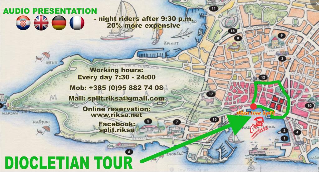 diocletian tour